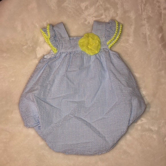 89d754872d crown & ivy One Pieces   Seersucker Bubble For Baby Girl   Poshmark